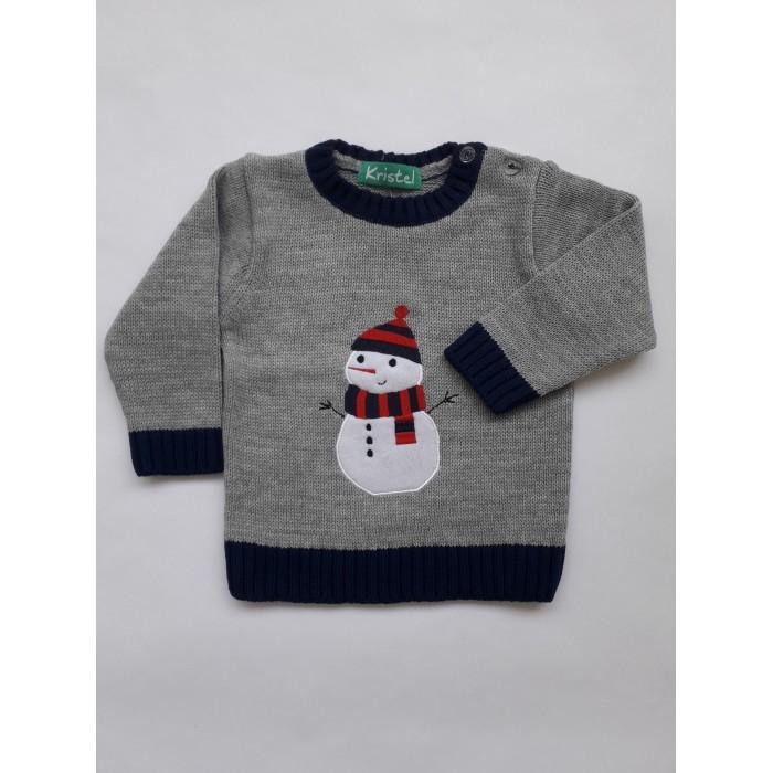 Пуловер с апликация