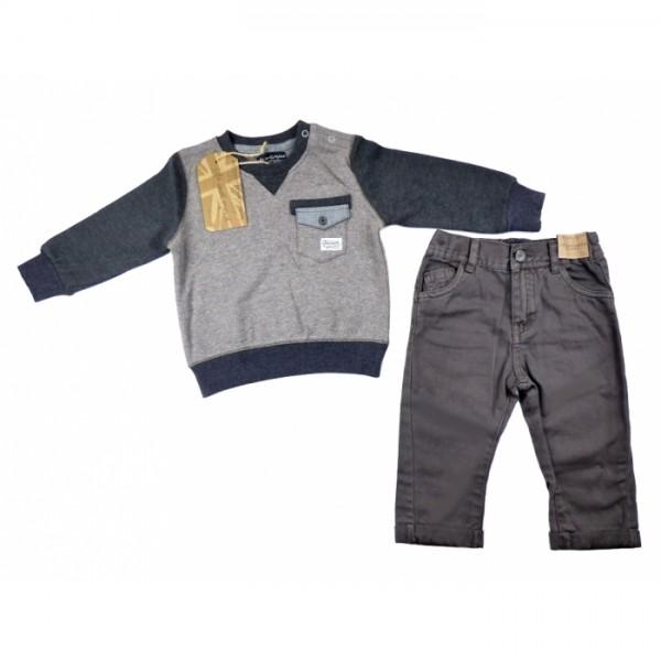 Комплект за момче панталон и блуза Life&Legend