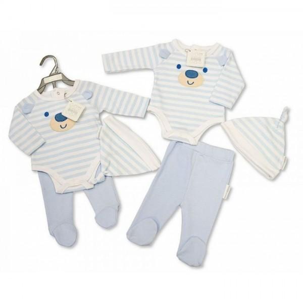 Бебешки комплект от 3 части Nursery Time