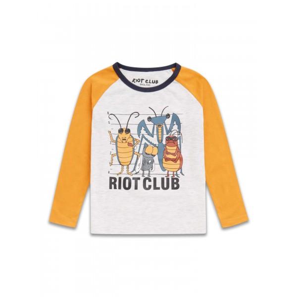 Сладурска блуза с буболечки Riot Club