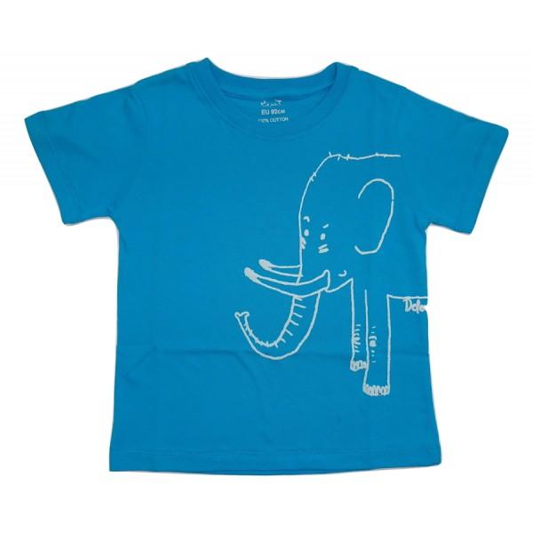 Тениска Слонче Rhino Синя