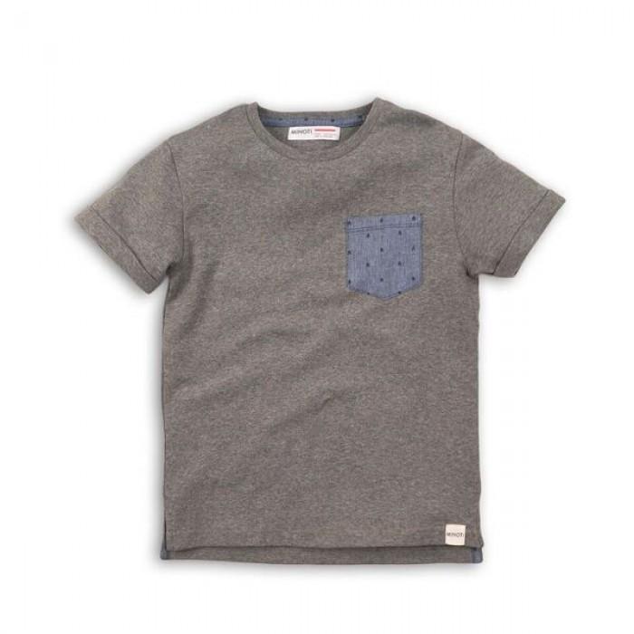 Тениска с джобче Minoti