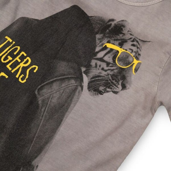 Блуза с къс ръкав Tigers Rule Minoti