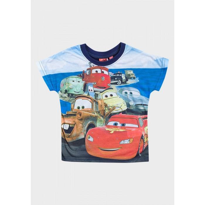 Блуза с къс ръкав Cars Disney тъмносиня