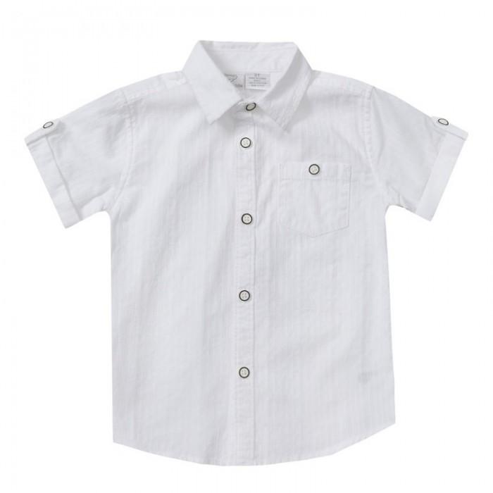 Бяла риза с къс ръкав за момче Koala Kids