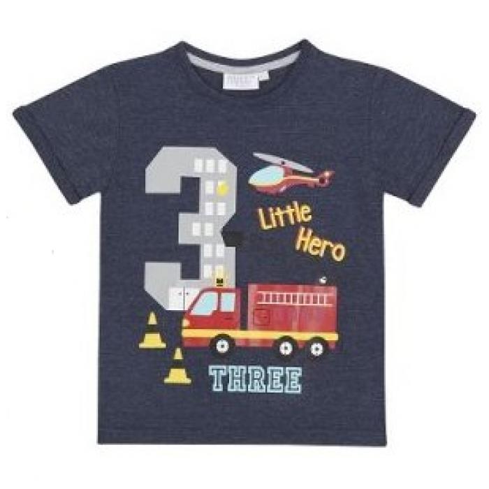 Блузи за момченца с цифра 1-6г. Mini Kidz