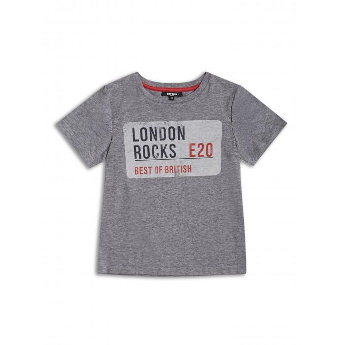 Сива тениска London Rocks