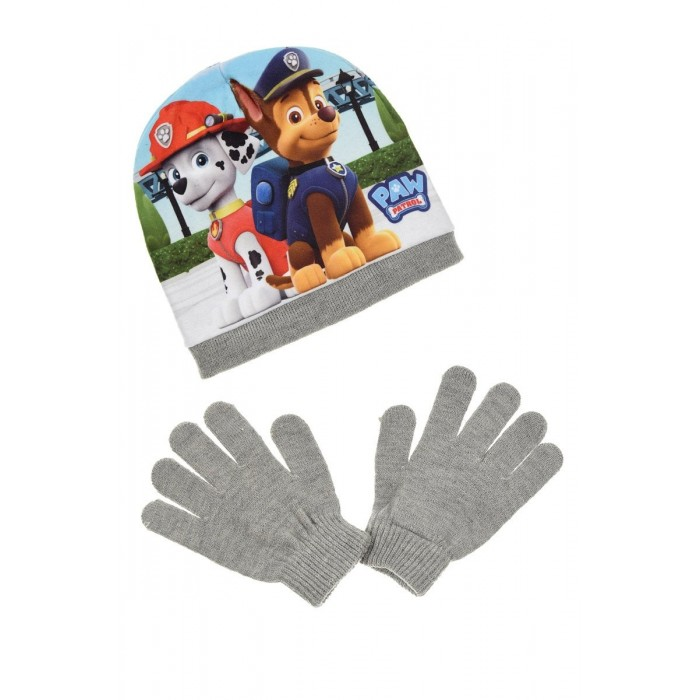 Комплект шапка и ръкавици за момче Пес Патрул