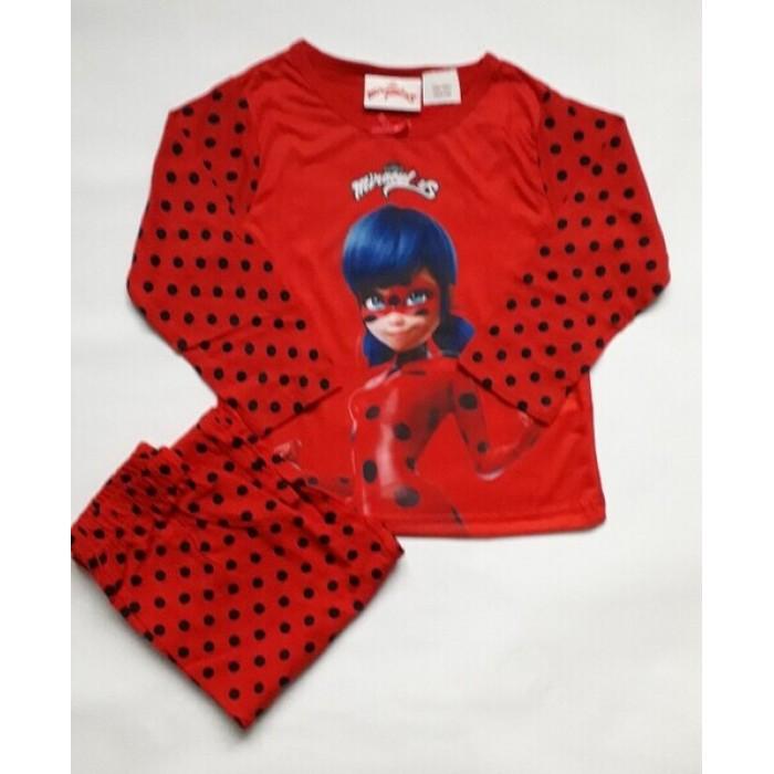 Пижама за момиче с Калинката в червено