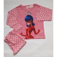 Пижама за момиче с Калинката в розово