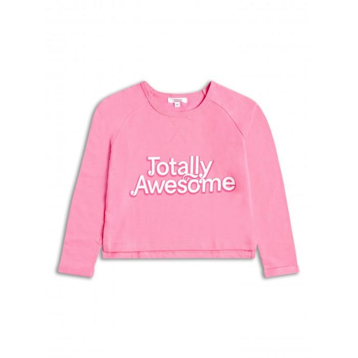 Розова блузка с реглан ръкав Totally Awesome