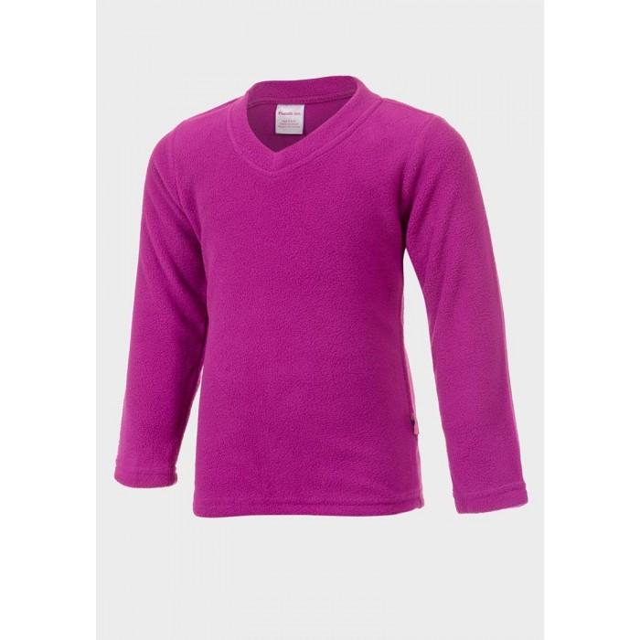 Поларена блуза с V-образно деколте Friends Inc циклама