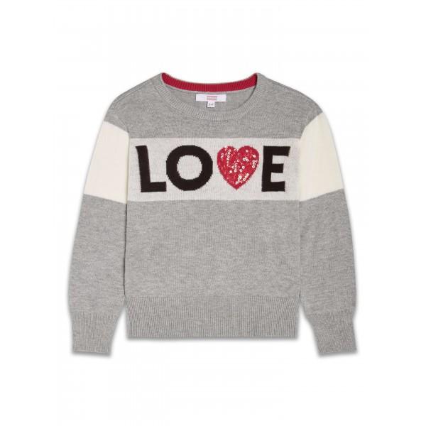 Пуловер за момичета Love Sugar Squad