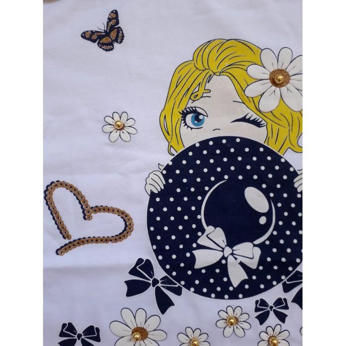 Блуза с дълъг ръкав за момичета Daisy