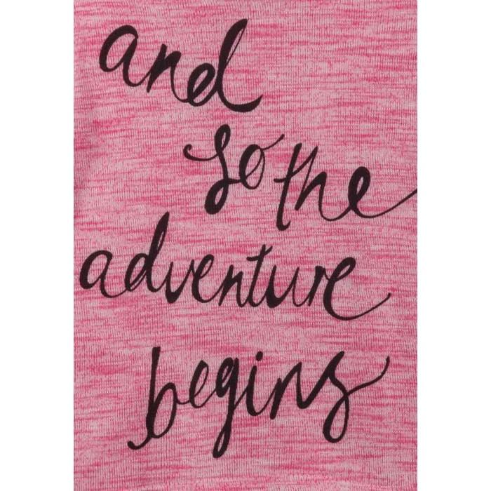 Блуза за момиче Adventure Begins Роза