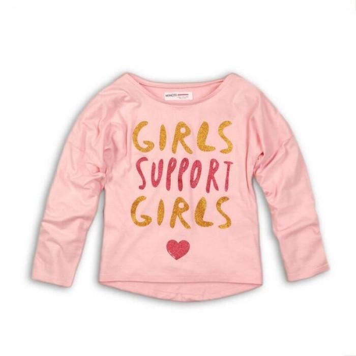 Блуза с дълъг ръкав Girls Support Girls Minoti