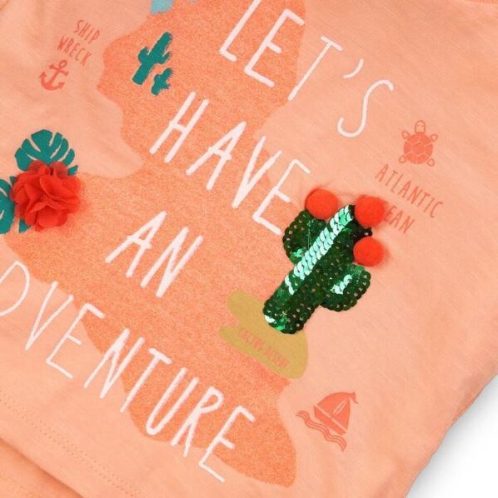 Блуза с къс ръкав Adventure Minoti