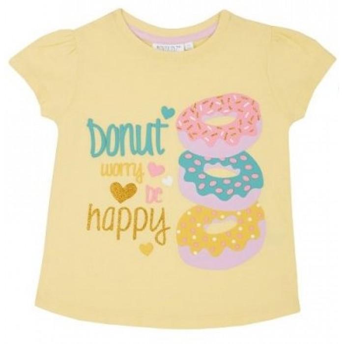 Блуза с къс ръкав за момиче Donut Minikidz