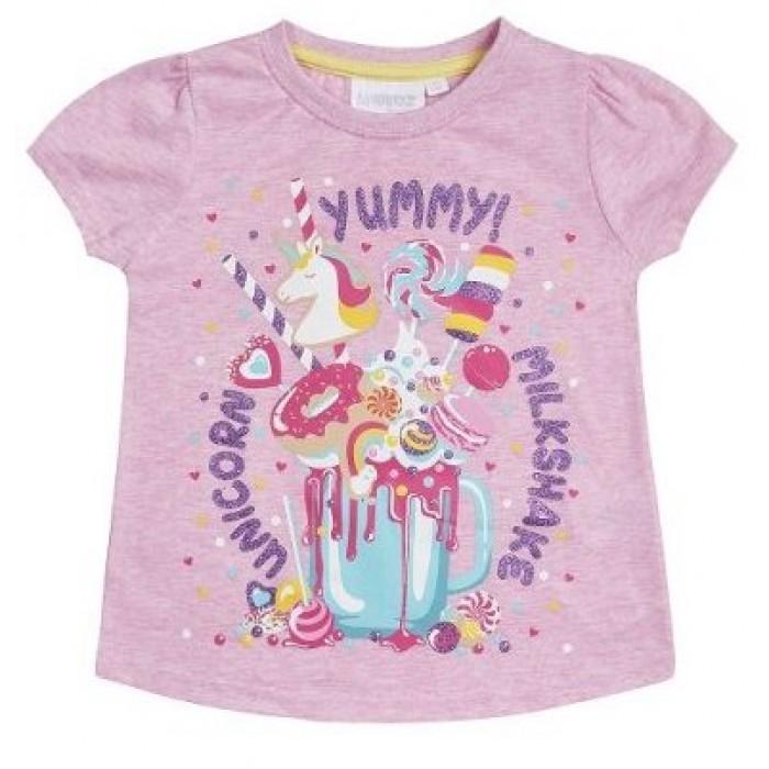 Блуза с къс ръкав за момиче Yummy Minikidz
