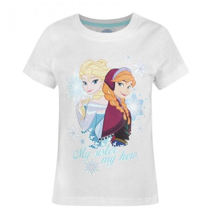 Блуза с къс ръкав за момиче Frozen Disney