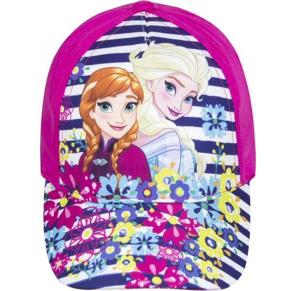 Шапка за момиче с Елза и Анна Disney Frozen в розово