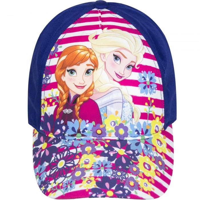 Шапка за момиче с Елза и Анна Disney Frozen в синьо
