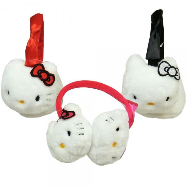 Ушанки за момиче Hello Kitty 3 цвята