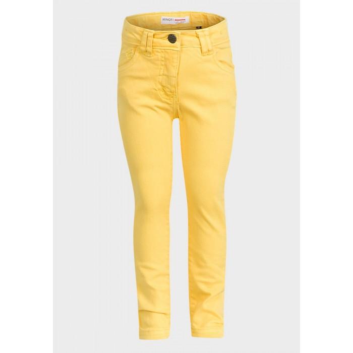 Ластични панталони Minoti жълти