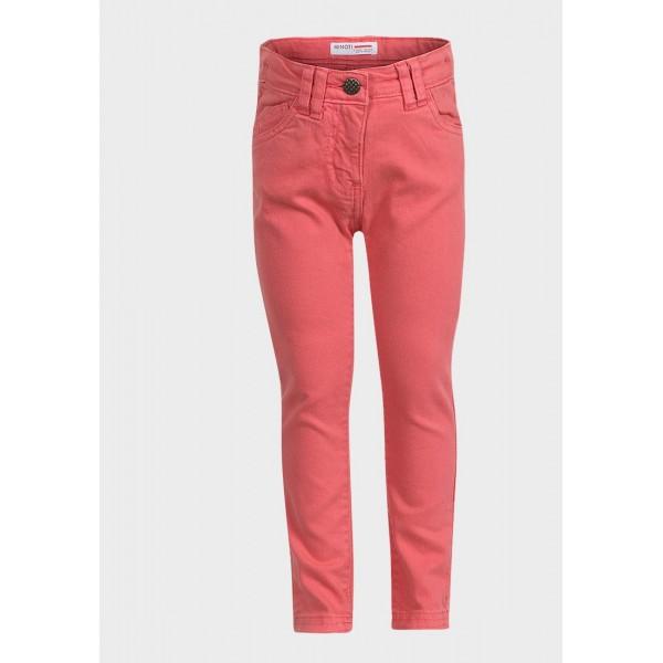 Ластични панталони Minoti цвят диня