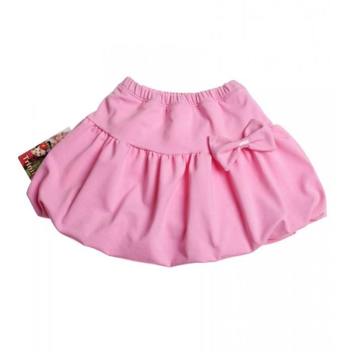 Розова пола балон с панделка