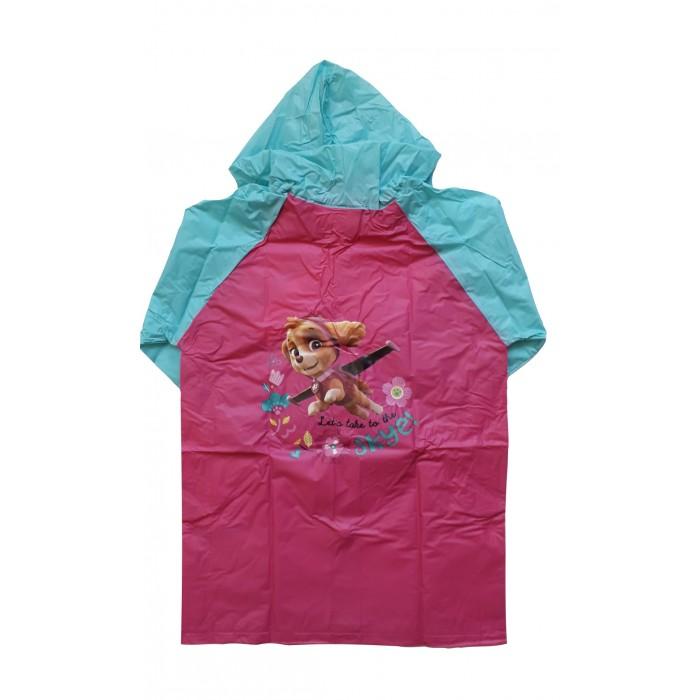 Дъждобран за момиче със Скай и Еверест от Пес Патрул в розово и синьо