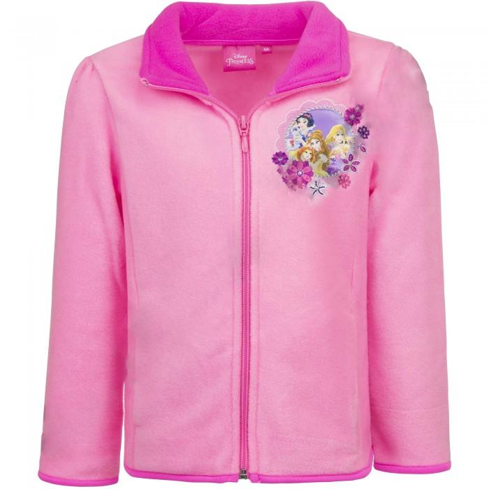 Поларено яке за момиче с принцеси Disney в розово